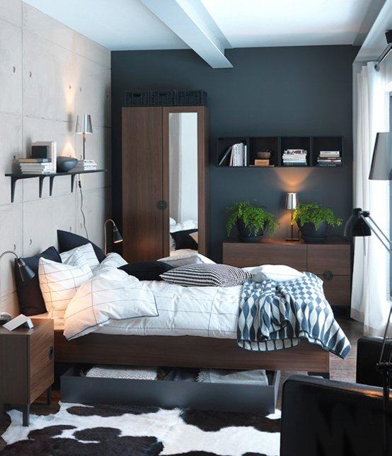 Фотография: Спальня в стиле Лофт, Современный, Интерьер комнат, IKEA – фото на INMYROOM
