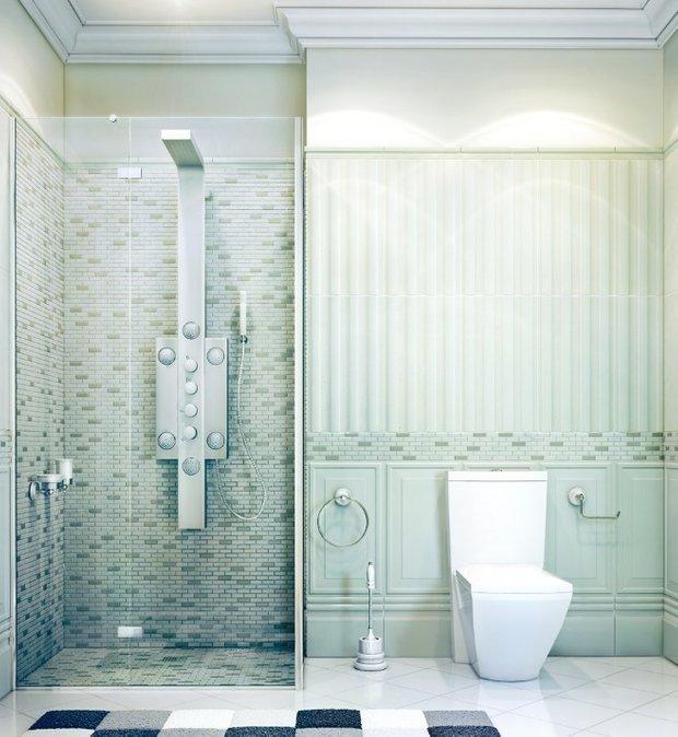 Фотография: Ванная в стиле Современный, Декор интерьера, Дом, Дома и квартиры, Проект недели, Неоклассика – фото на INMYROOM