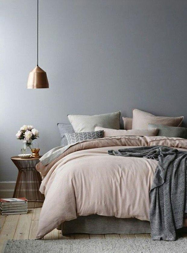 Фотография: Спальня в стиле Лофт, Скандинавский, Декор интерьера, Дизайн интерьера, Цвет в интерьере – фото на INMYROOM