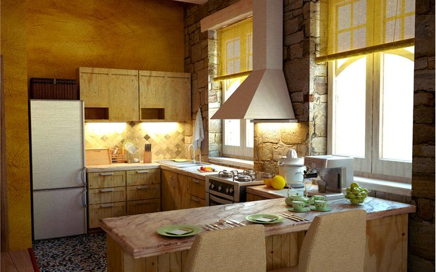 Фотография: Кухня и столовая в стиле Прованс и Кантри, Современный, Советы, Ремонт на практике – фото на INMYROOM