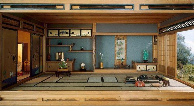 Фотография: Гостиная в стиле Восточный, Декор интерьера, Декор дома, Японский – фото на INMYROOM