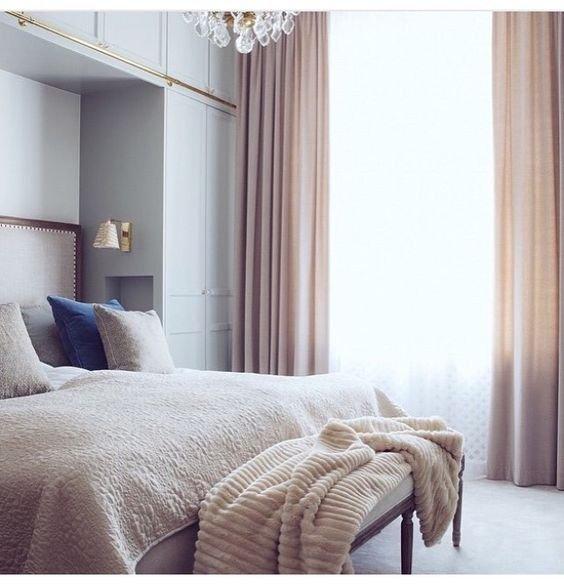 Фотография: Спальня в стиле , Декор интерьера, Зеленый, Бежевый, Серый, Розовый, Голубой – фото на INMYROOM