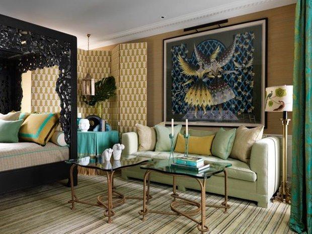 Фотография: Гостиная в стиле Восточный, Гид, Жан-Луи Денио – фото на INMYROOM