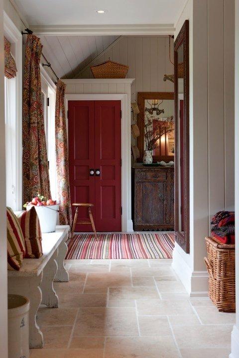 Фотография: Прихожая в стиле Прованс и Кантри, Современный, Декор интерьера, Декор дома, Ковер – фото на INMYROOM