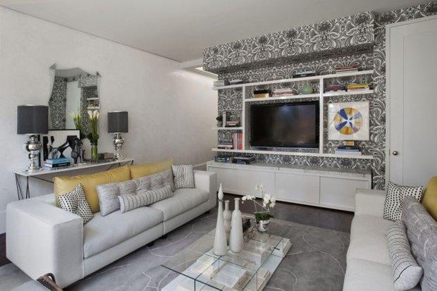 Фотография: Гостиная в стиле Современный, Интерьер комнат, Декор, Советы – фото на INMYROOM