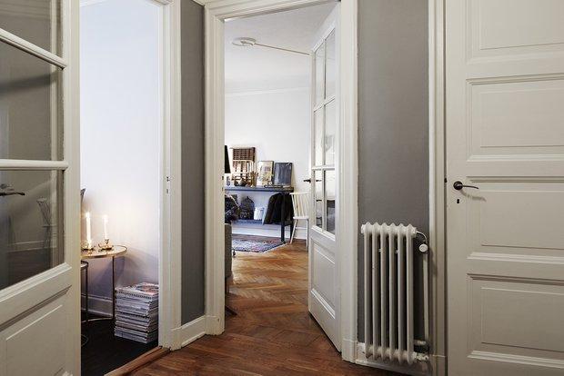 Фотография: Прихожая в стиле Скандинавский, Декор интерьера, Малогабаритная квартира, Квартира, Мебель и свет – фото на INMYROOM