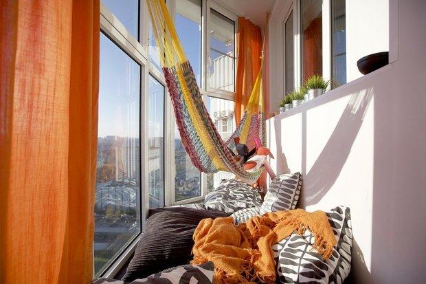 Фотография:  в стиле , Балкон, Квартира, Декор, Советы, как обустроить маленький балкон, идеи для маленького балкона, декор балкона – фото на INMYROOM