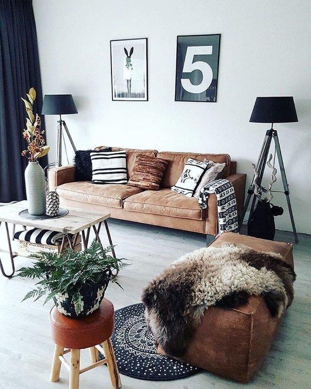 Фотография: Гостиная в стиле Скандинавский, Советы, уборка квартиры, как избавиться от пыли – фото на INMYROOM