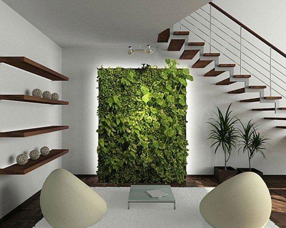 Фотография: Гостиная в стиле Лофт, Минимализм, Балкон, Флористика, Стиль жизни – фото на INMYROOM