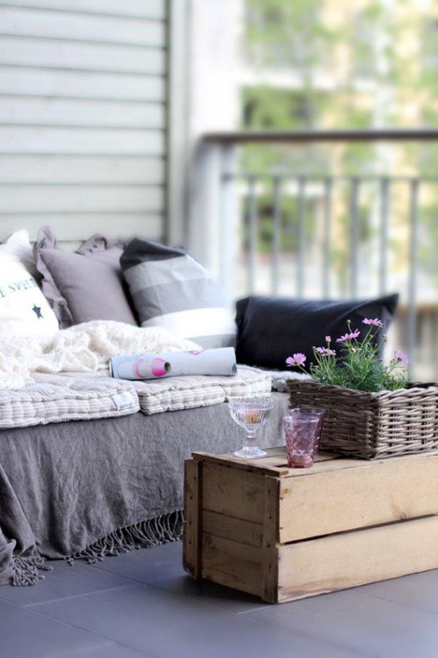 Фотография: Балкон, Терраса в стиле Прованс и Кантри, Современный, Интерьер комнат, специальная тема: балконы – фото на INMYROOM