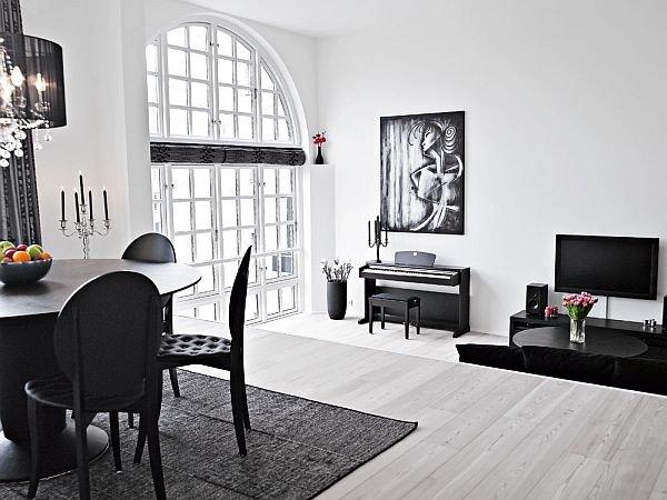 Фотография: Гостиная в стиле Эклектика, Дизайн интерьера, Цвет в интерьере – фото на INMYROOM
