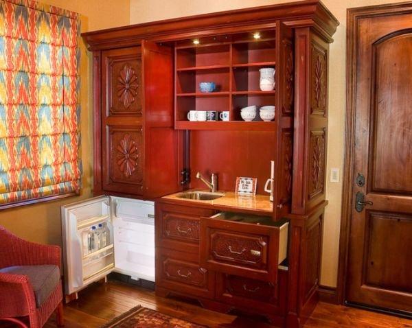 Фотография: Кухня и столовая в стиле Прованс и Кантри, Интерьер комнат, Бытовая техника – фото на InMyRoom.ru