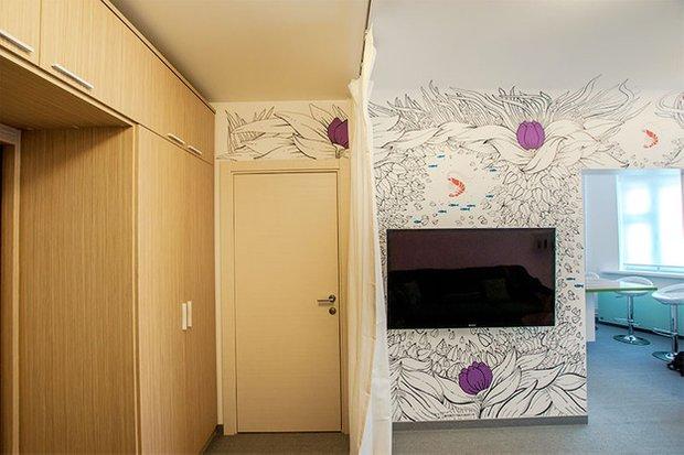 Фотография: Прихожая в стиле Современный, Кухня и столовая, Интерьер комнат, Elle Decoration – фото на INMYROOM