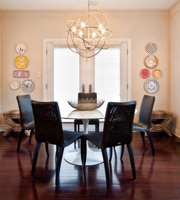 Фотография: Кухня и столовая в стиле Эклектика, Декор интерьера, Дом, Мебель и свет, Светильники, Люстра – фото на INMYROOM