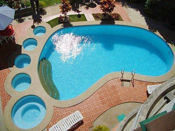 Фотография: Ландшафт в стиле , Бассейн – фото на INMYROOM