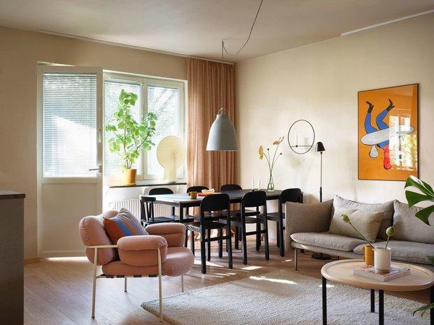 Фотография: Гостиная в стиле Скандинавский, Декор интерьера, Швеция, Стокгольм – фото на INMYROOM