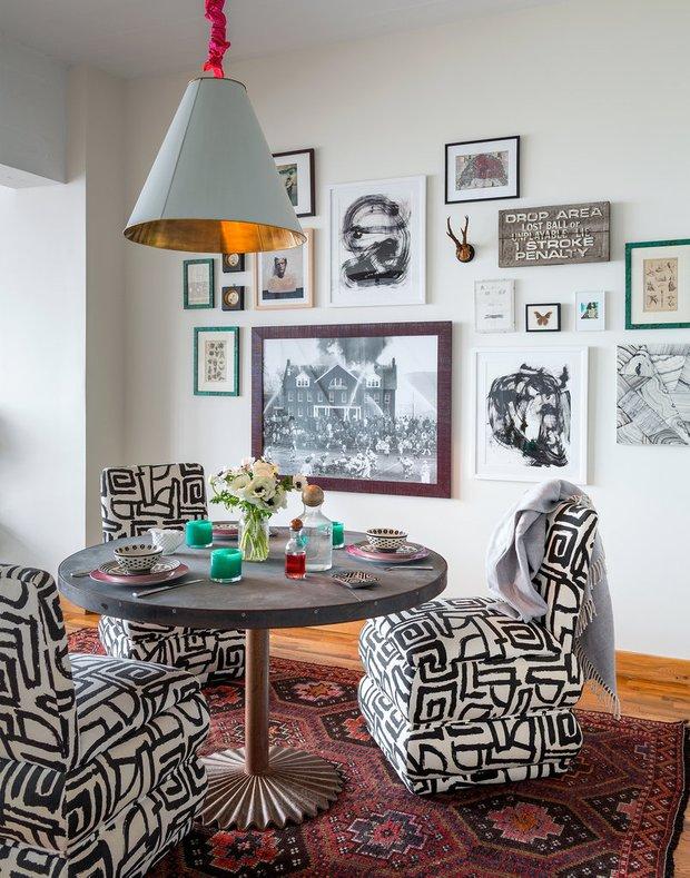 Фотография: Кухня и столовая в стиле Современный, Эклектика, Лофт, Декор интерьера, Квартира, Дома и квартиры, Нью-Йорк – фото на INMYROOM