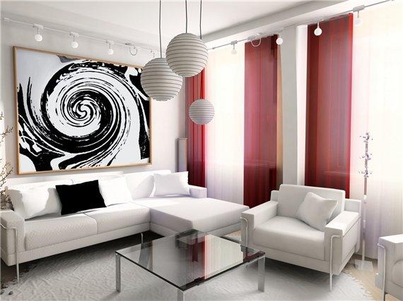 Фотография: Гостиная в стиле Современный, Декор интерьера, Декор дома, Картины, Постеры – фото на INMYROOM