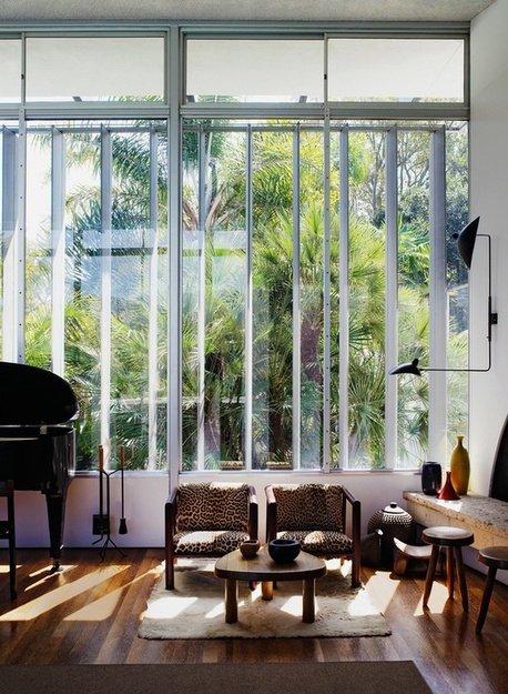 Фотография: Гостиная в стиле Эко, Эклектика, Дом, Дома и квартиры, Колониальный – фото на INMYROOM