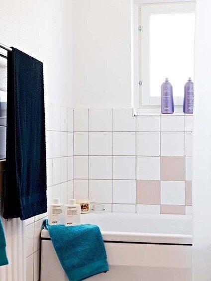Фотография: Ванная в стиле Скандинавский, Малогабаритная квартира, Квартира, Швеция, Дома и квартиры – фото на INMYROOM