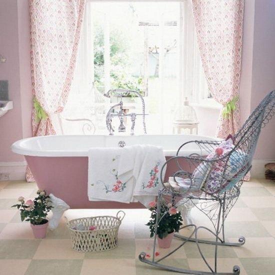 Фотография: Ванная в стиле Прованс и Кантри, Декор интерьера, Дом, Стиль жизни, Советы, Шебби-шик – фото на INMYROOM