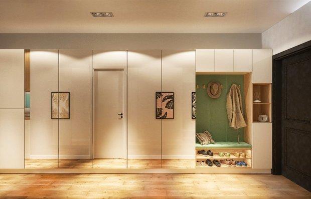 Фотография: Прихожая в стиле Современный, Советы, Гид, хранение в квартире, однушка – фото на INMYROOM