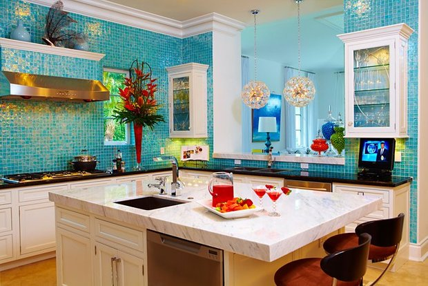 Фотография: Кухня и столовая в стиле Восточный, Интерьер комнат – фото на INMYROOM