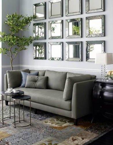 Фотография: Гостиная в стиле Восточный, Эклектика, Декор интерьера, Декор дома, Зеркала – фото на INMYROOM