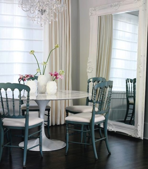 Фотография: Кухня и столовая в стиле Классический, Интерьер комнат, Обеденная зона – фото на INMYROOM