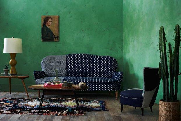 Фотография: Гостиная в стиле Эклектика, Декор интерьера, Дизайн интерьера, Цвет в интерьере, Dulux, ColourFutures, Akzonobel – фото на INMYROOM