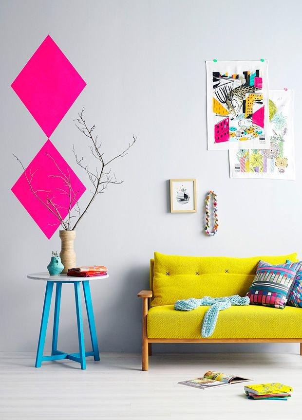 Фотография: Декор в стиле Скандинавский, Современный, Декор интерьера, Дизайн интерьера, Цвет в интерьере, Желтый – фото на INMYROOM