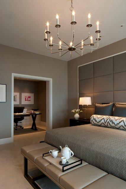 Фотография: Спальня в стиле Восточный, Кабинет, Интерьер комнат – фото на INMYROOM