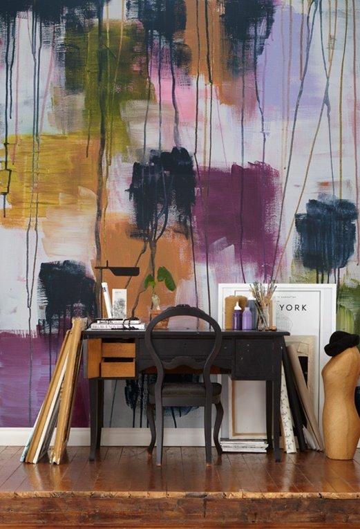 Фотография: Офис в стиле Классический, Современный, Квартира, Дома и квартиры, Советы, Стены, Подушки, Ремонт на практике – фото на INMYROOM
