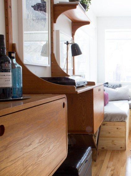 Фотография: Спальня в стиле Лофт, DIY, Дом, Дома и квартиры, Камин – фото на INMYROOM