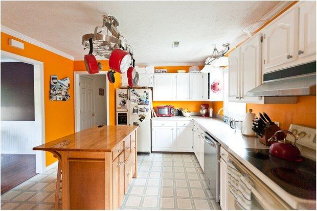 Фотография: Кухня и столовая в стиле Лофт, Современный, Декор интерьера, Дизайн интерьера, Цвет в интерьере, Советы, Ремонт – фото на INMYROOM