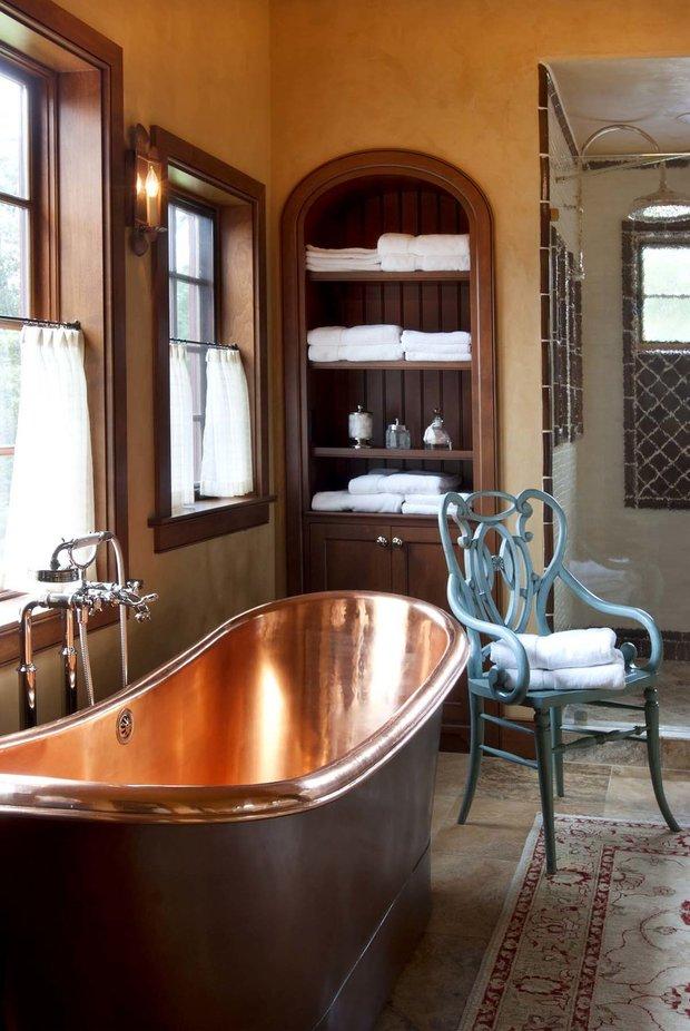 Фотография: Ванная в стиле Прованс и Кантри, Декор интерьера, Аксессуары, Декор, Мебель и свет – фото на INMYROOM