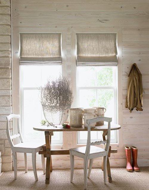 Фотография: Кухня и столовая в стиле Скандинавский, Декор интерьера, Текстиль, Окна – фото на INMYROOM