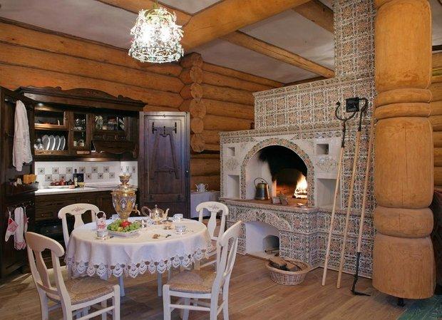 Фотография: Кухня и столовая в стиле Прованс и Кантри, Декор интерьера, Мебель и свет, Деревенский – фото на InMyRoom.ru