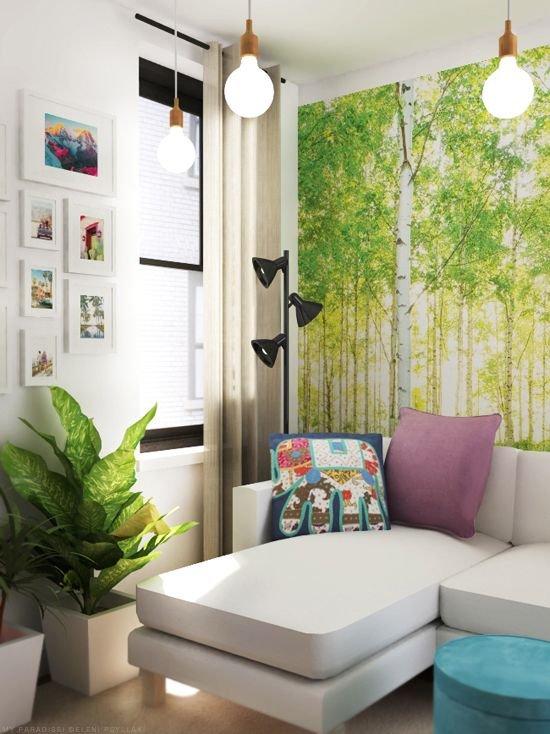 Фотография:  в стиле , Малогабаритная квартира, Квартира, Советы – фото на INMYROOM