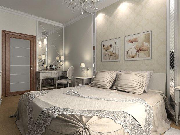 Фотография:  в стиле , Спальня, Декор интерьера, Советы, зеркала в спальни – фото на InMyRoom.ru