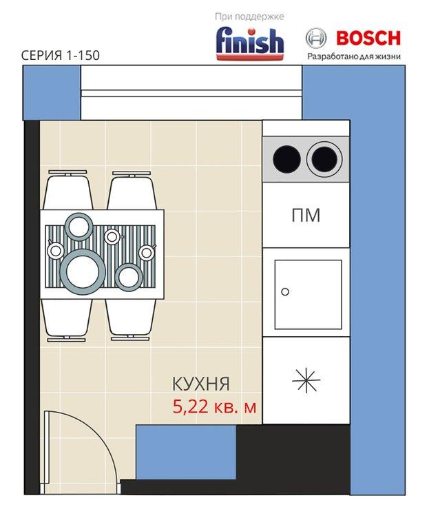 Фотография: Планировки в стиле , Кухня и столовая, Перепланировка, Анастасия Киселева, Максим Джураев, Кирпичный дом – фото на INMYROOM