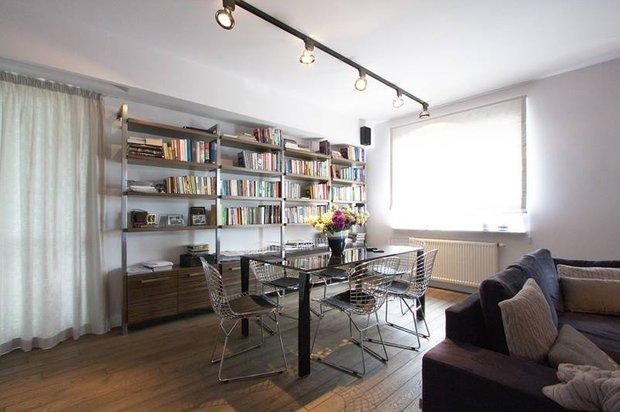 Фотография: Кухня и столовая в стиле Современный, Лофт, Квартира, Дома и квартиры, Индустриальный, Польша – фото на INMYROOM