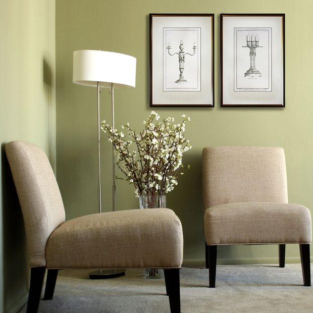 Фотография: Мебель и свет в стиле Прованс и Кантри, Декор интерьера, Декор дома, Цвет в интерьере, Постеры – фото на INMYROOM