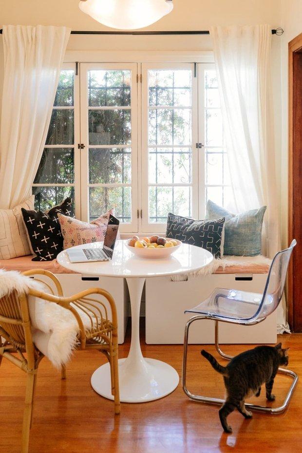 Фотография: Кухня и столовая в стиле Скандинавский, Современный, Квартира, Советы, Минимализм – фото на INMYROOM