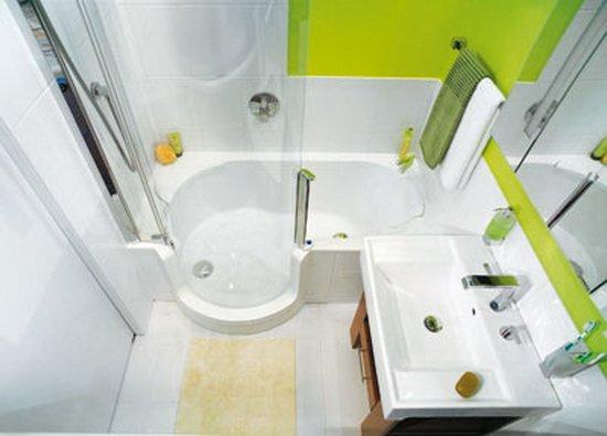 Фотография: Ванная в стиле Хай-тек, Малогабаритная квартира, Интерьер комнат, Советы – фото на INMYROOM