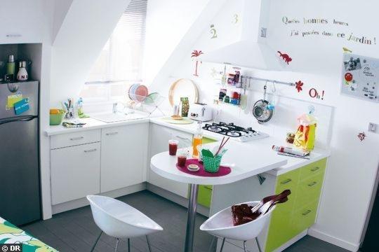 Фотография: Гостиная в стиле Скандинавский, Эклектика, Кухня и столовая, Декор интерьера, Мебель и свет – фото на INMYROOM