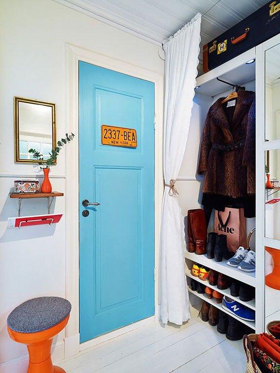 Фотография: Прихожая в стиле Скандинавский, Интерьер комнат – фото на INMYROOM