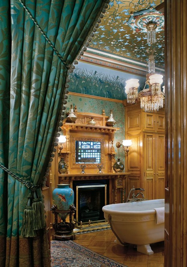 Фотография: Ванная в стиле Прованс и Кантри, Восточный, Декор интерьера, Интерьер комнат, Викторианский – фото на INMYROOM