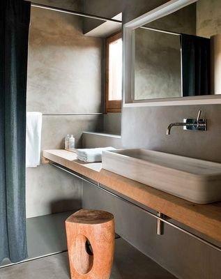 Фотография: Ванная в стиле Минимализм, Современный, Декор интерьера, Дизайн интерьера, Декор, Зеленый, Ванна, Эко – фото на INMYROOM