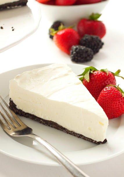 Фотография:  в стиле , Десерт, Сырым, Торт, Кулинарные рецепты, 15 минут, Американская кухня, Просто, Сливочный сыр, Печенье – фото на INMYROOM